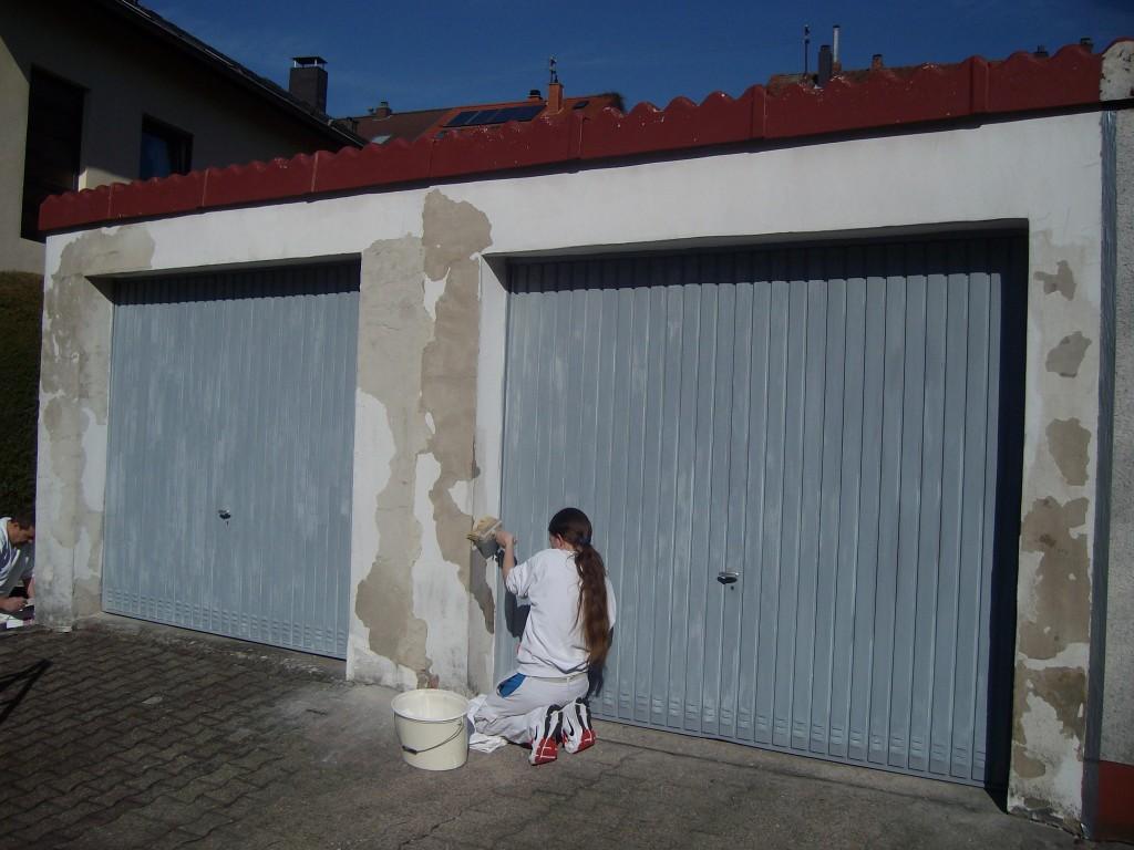 Renovierung Garage Saarbrücken Dudweiler - Maler Rüger
