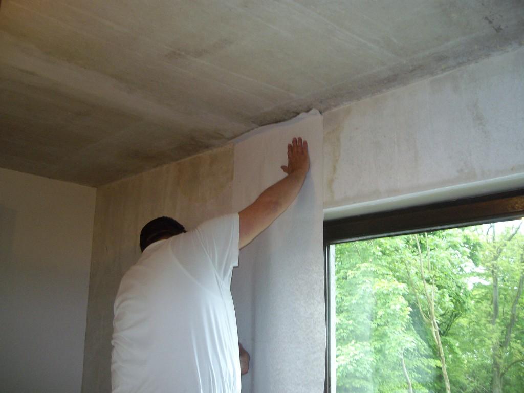 Wohnzimmer tapezieren Saarbrücken Dudweiler - Maler Rüger