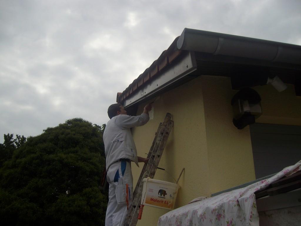 Fassadenanstrich Saarbrücken Dudweiler - Maler Rüger