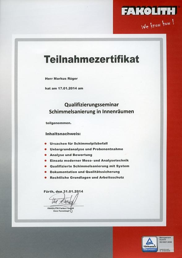 Schimmelsanierung Dudweiler Saarbrücken